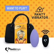 Feelztoys Rechargeable Panty Vibrator With Remote Control