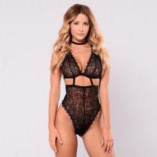 BODY SUIT- BLACK X BACK