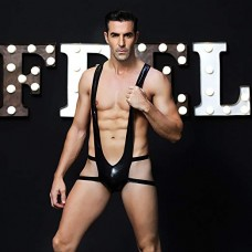 MALE OUTFIT - BORAT SEXY BODY- PLEATHER